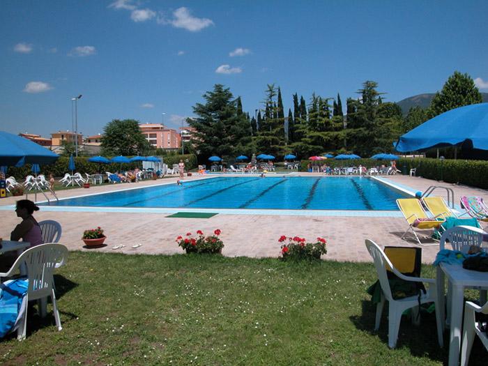 piscina tennis training